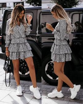 Γυναικείο φόρεμα κρουαζέ 55899