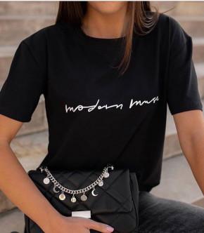 Γυναικείο κοντομάνικο 3612 μαύρο