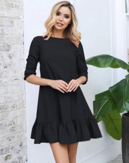 Γυναικείο φόρεμα 3997 μαύρο