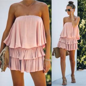 Γυναικείο φόρεμα 2440 ροζ