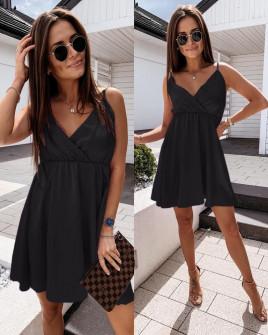 Γυναικείο φόρεμα 5122 μαύρο
