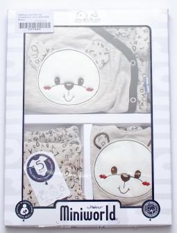 Βρεφικό σετ για νεογέννητο 5 τμχ.  50515059 μπεζ