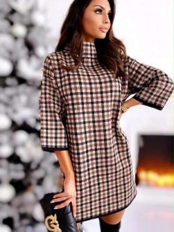Χαλαρό φόρεμα με print 272101