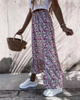 Γυναικεία φούστα με σκίσιμο 2130202