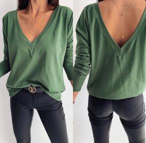 Γυναικεία μπλούζα 3376 πράσινη