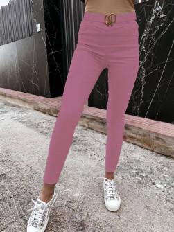 Γυναικείο παντελόνι 99921 ροζ