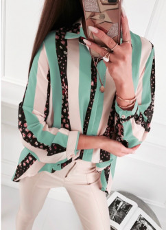 Γυναικείο πουκάμισο 5041 πράσινο