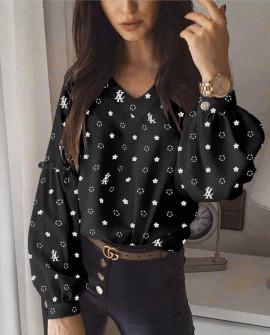 Γυναικεία μπλούζα 395710 μαύρη