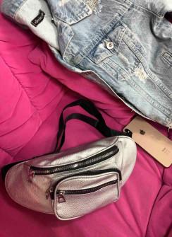 Γυναικεία τσάντα 2187 ασημί