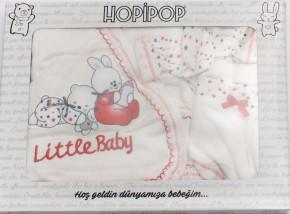 Βρεφικό σετ για νεογέννητο 5 τμχ. 50500305 κόκκινο