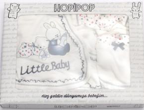 Βρεφικό σετ για νεογέννητο 5 τμχ 50500305 σκούρο μπλε