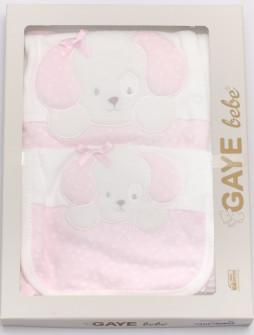 Βρεφικό σετ για νεογέννητο 5 τμχ 50500770 ροζ