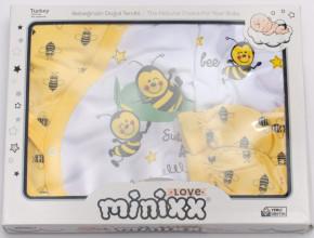 Βρεφικό σετ για νεογέννητο 5 τμχ. 50500207 μέλισσα