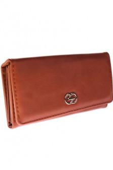 Γυναικείο πορτοφόλι  D323 καφέ