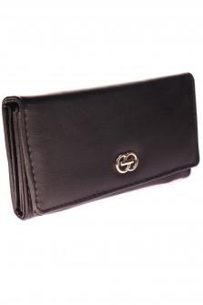 Γυναικείο πορτοφόλι D323 μαύρο