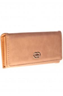 Γυναικείο πορτοφόλι D323 καμηλό