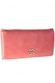 Γυναικείο πορτοφόλι D323 ροζ