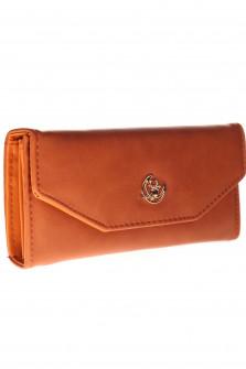 Γυναικείο πορτοφόλι J316 καφέ