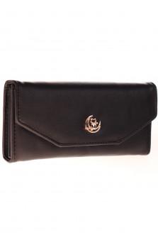 Γυναικείο πορτοφόλι  J316 μαύρο