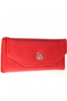Γυναικείο πορτοφόλι J316 κόκκινο