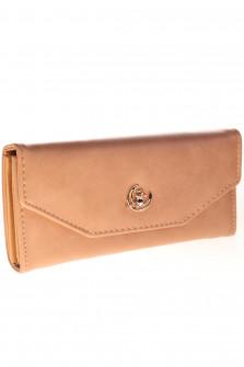 Γυναικείο πορτοφόλι J316 καμηλό
