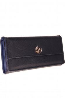 Γυναικείο πορτοφόλι A638 σκούρο μπλε