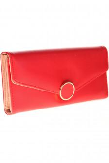 Γυναικείο πορτοφόλι R17012 κόκκινο/ροζ