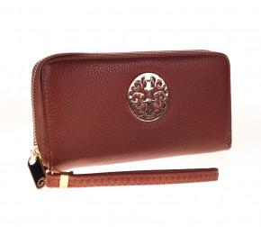 Γυναικείο πορτοφόλι K99013 καφέ