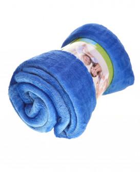 Απαλή κουβέρτα MO048682 μπλε  ρουά