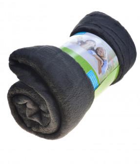 Απαλή κουβέρτα MO048682 μαύρη