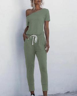 Γυναικεία αθλητική ολόσωμη φόρμα 2367 σκούρο πράσινο