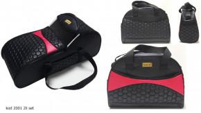 Σετ πορτ μπεμπέ και τσάντα 00814 μαύρο