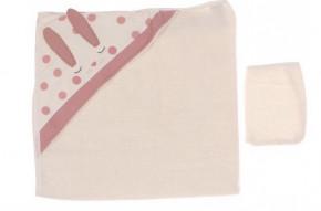 Βρεφική πετσέτα 5051478 πούδρα