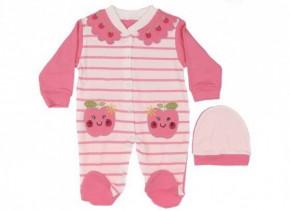 Βρεφική ολόσωμη φόρμα 5051484  ροζ