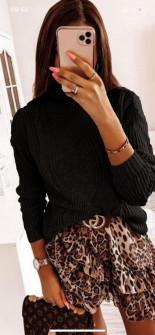 Γυναικείο πουλόβερ 0029 μαύρο