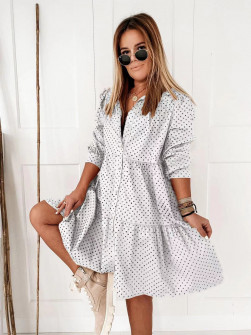Γυναικείο φόρεμα 20800 άσπρο