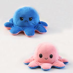 Παιδικό φλις παιχνίδι χταποδάκι DI13705 μπλε/ροζ