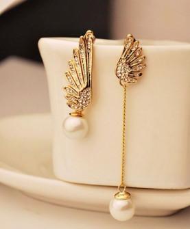 Γυναικεία σκουλαρίκια SP150 χρυσαφί
