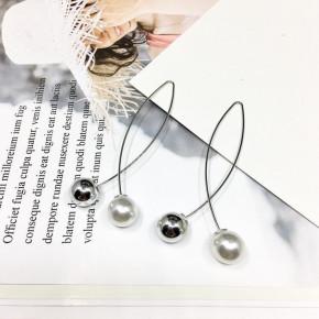 Γυναικεία σκουλαρίκια SP145 ασημί