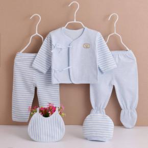 Βρεφικό σετ νεογέννητου 5τμχ. BF0601 μπλε