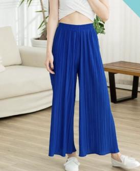 Γυναικείο παντελόνι σολέιγ 34456 μπλε ρουά