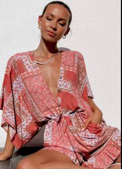 Γυναικεία κοντή ολόσωμη φόρμα 570801
