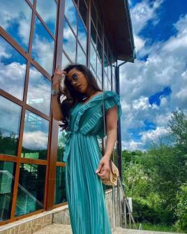 Γυναικεία ολόσωμη φόρμα σολέιγ 5741 τυρκουάζ