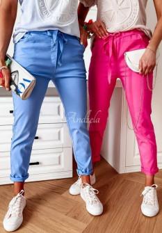 Γυναικείο απλό παντελόνι 2357 γαλάζιο