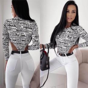 Γυναικείο παρτό κορμάκι 21067 άσπρο