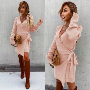 Γυναικείο μπλουζοφόρεμα 2105 ροζ