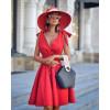 Γυναικείο φόρεμα 3520 κόκκινο