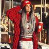 Γυναικεία ζακέτα  150986 κόκκινη