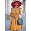 Γυναικείο φόρεμα 3520 κίτρινο
