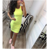 Γυναικείο φόρεμα 2623 κίτρινο